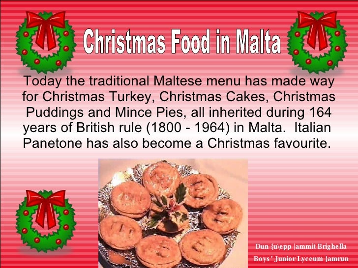 Cake Decorating Course Malta : Christmas In Malta