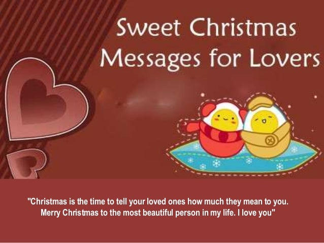 Happy merry christmas messages for lover christmas m4hsunfo