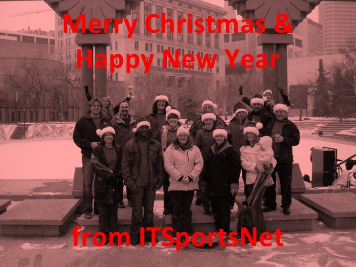 Merry Christmas & Happy New Year from ITSportsNet