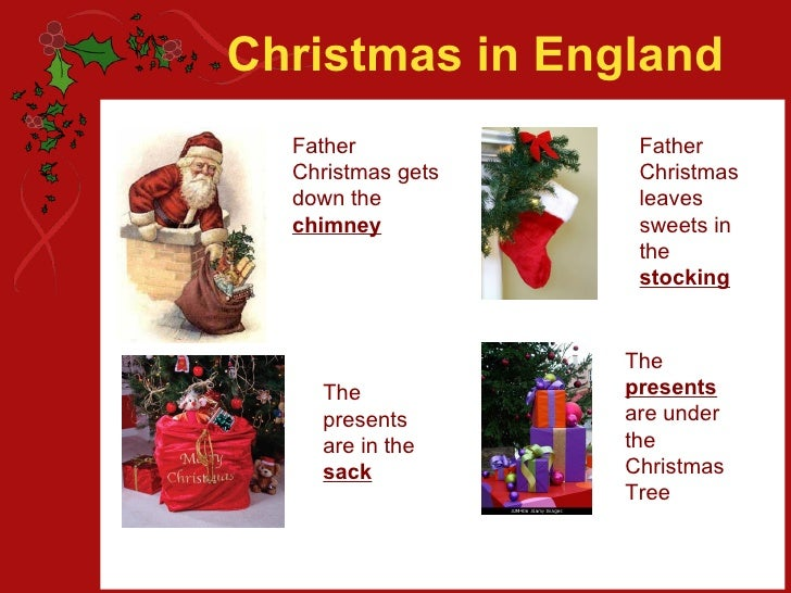 Christmas In England Father