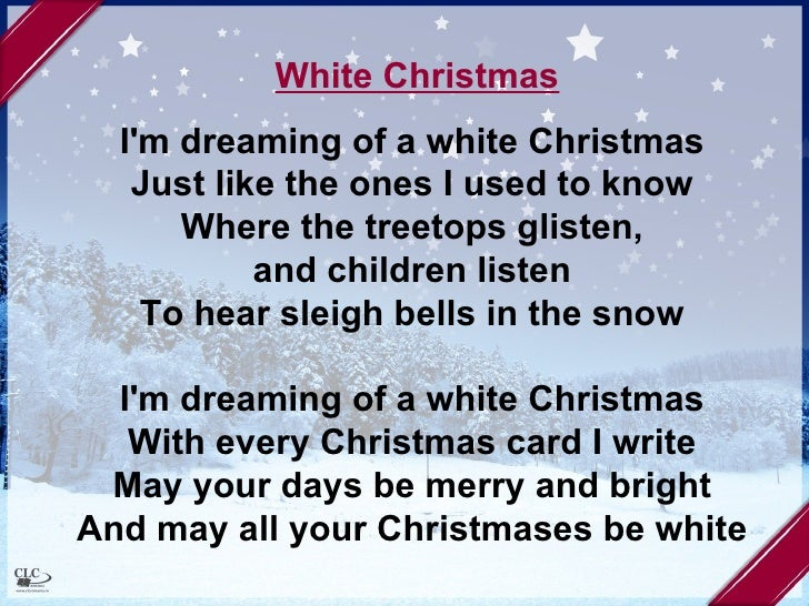 white christmas - White Christmas Song