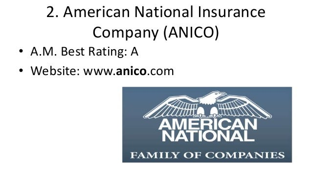 American National Insurance Rating  : Christmas : The Top 10 best life insurance companies in the united st…