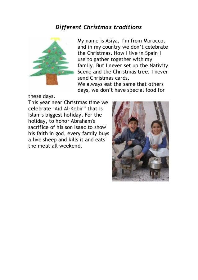 Christmas Tradition Slide 2