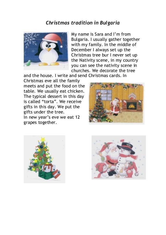 Christmas Tradition Slide 3