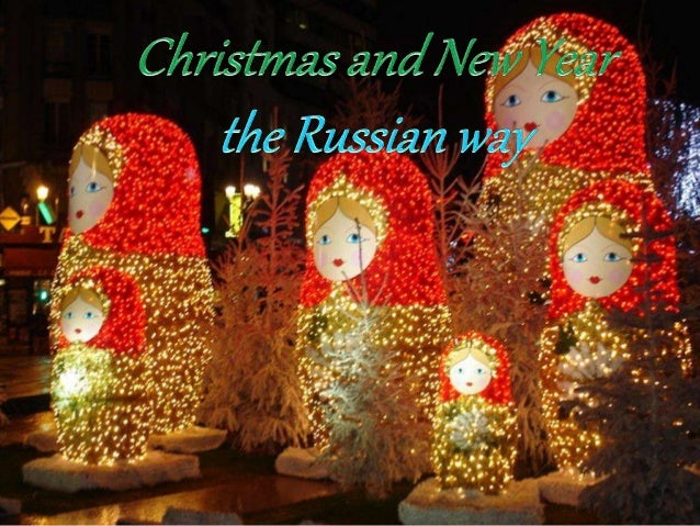 The Russians celebrate twice the New Year. One of the Gregorian calendar (January 1) and that of the Orthodox religion (Ja...