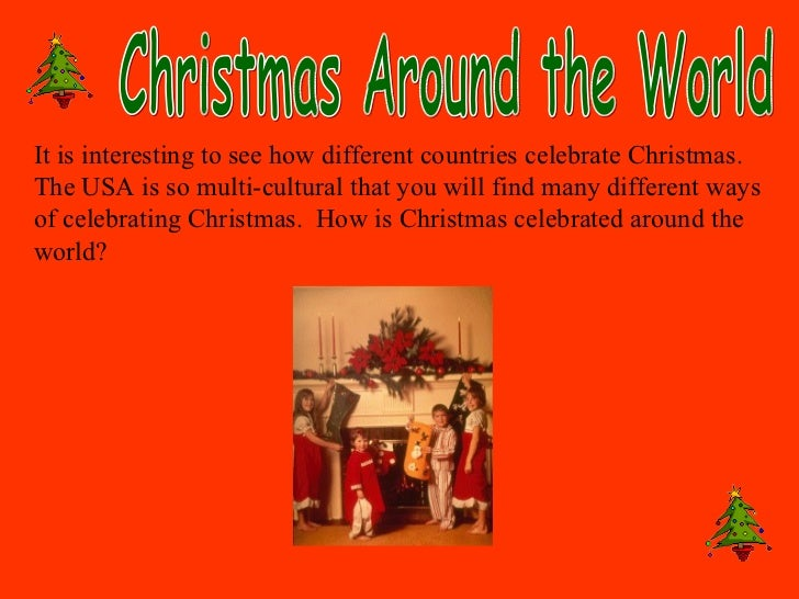 christmas - What Countries Celebrate Christmas
