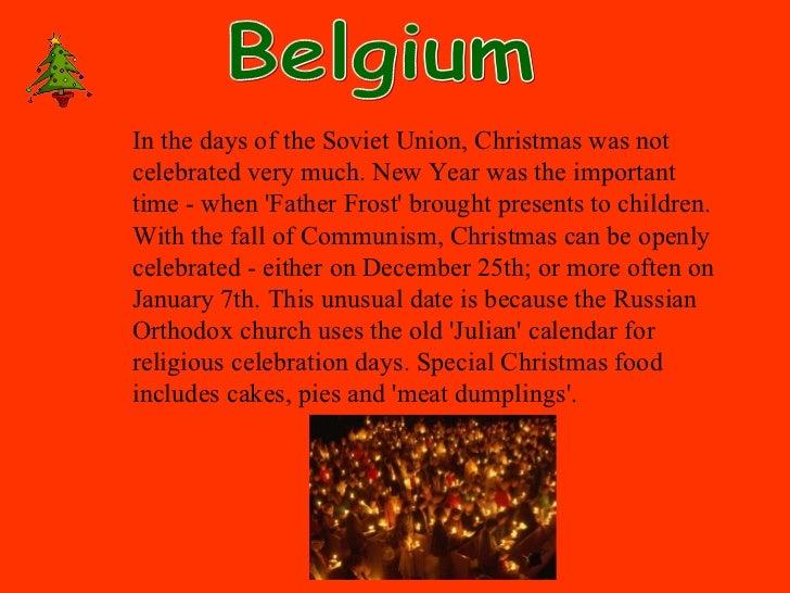 Christmas Traditions Around The World.Christmas Around The World