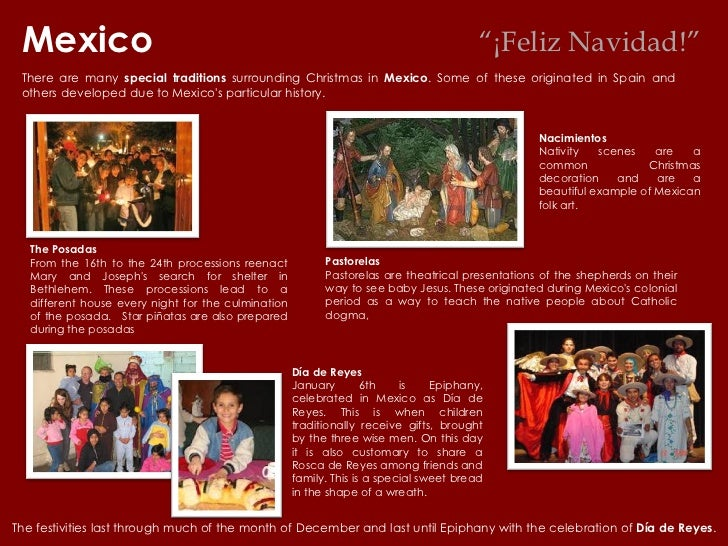 there are many special traditions surrounding christmas in mexico some of these originated in spain and others developed due to mexicos particular history - How Is Christmas Celebrated In Mexico
