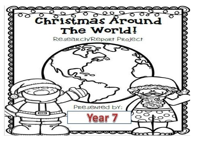 Christmas Around The World Y7