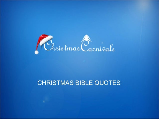 Christmas Bible Quotes.Christmas Bible Quotes