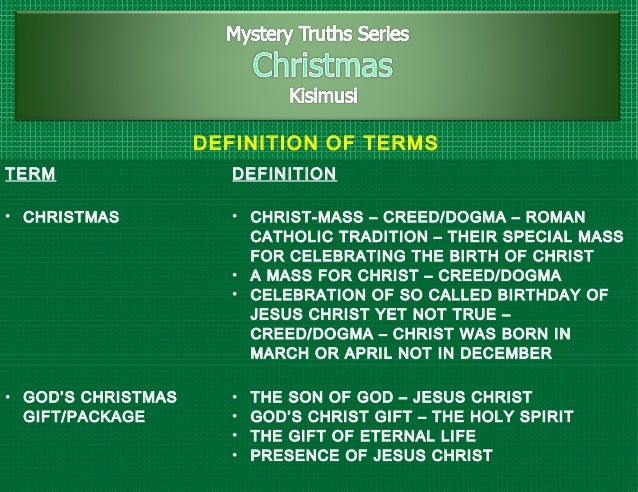 2 22 definition - What Is The Definition Of Christmas