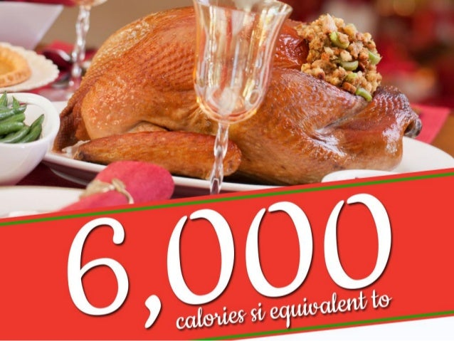 The Facts About Christmas Calories Slide 3
