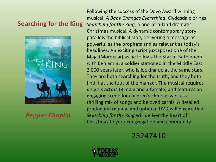 Pender's Picks: Choral Christmas cantatas 2011 (sheet music)