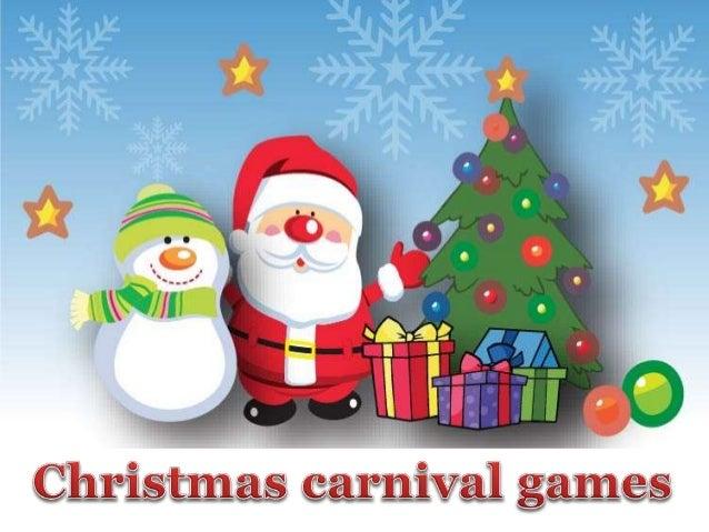 christmas carnival games