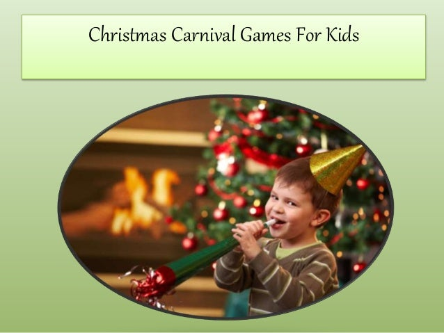 christmas games for kids carnival for 12860