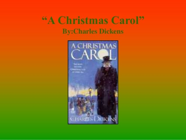 """A Christmas Carol"" By:Charles Dickens"