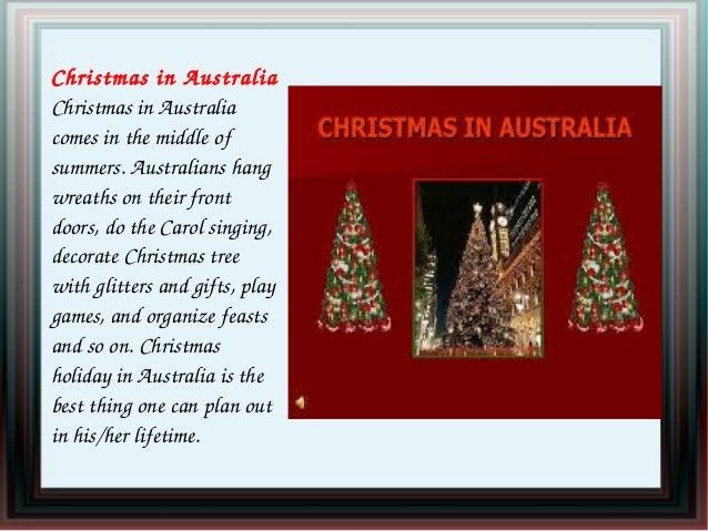 Christmas Celebrations In Australia
