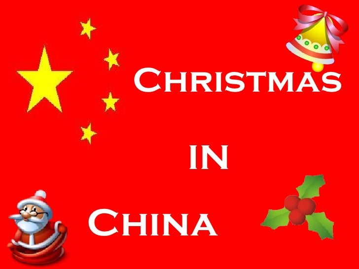 China Christmas IN