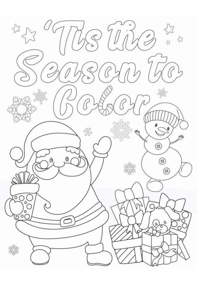 Drawing Santa Claus