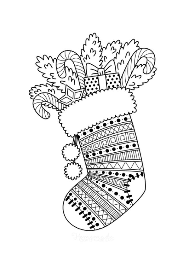 Christmas coloring pages'2020
