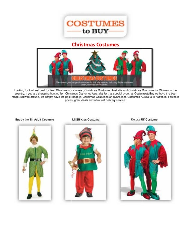 christmas costumes looking for the best deal for best christmas costumes christmas costumes australia and - Best Christmas Costumes