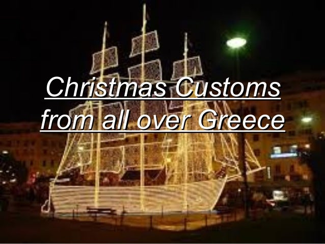 christmas customs from all over greece 1 - When Is Greek Christmas