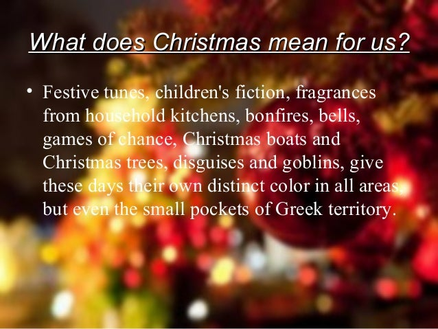 Christmas Customs From All Over Greece 1