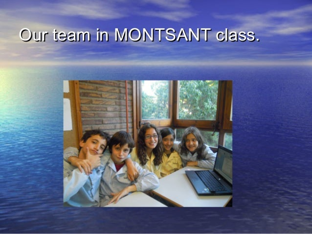 Our team in MONTSANT class.