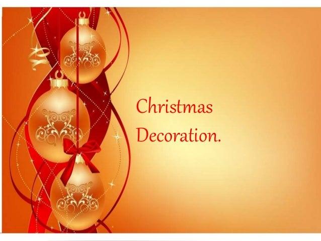 Christmas  Decoration.