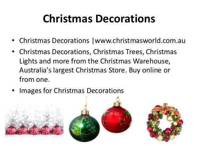 Christmas Decorations • Christmas Decorations |www.christmasworld.com.au • Christmas Decorations, Christmas Trees, Christm...