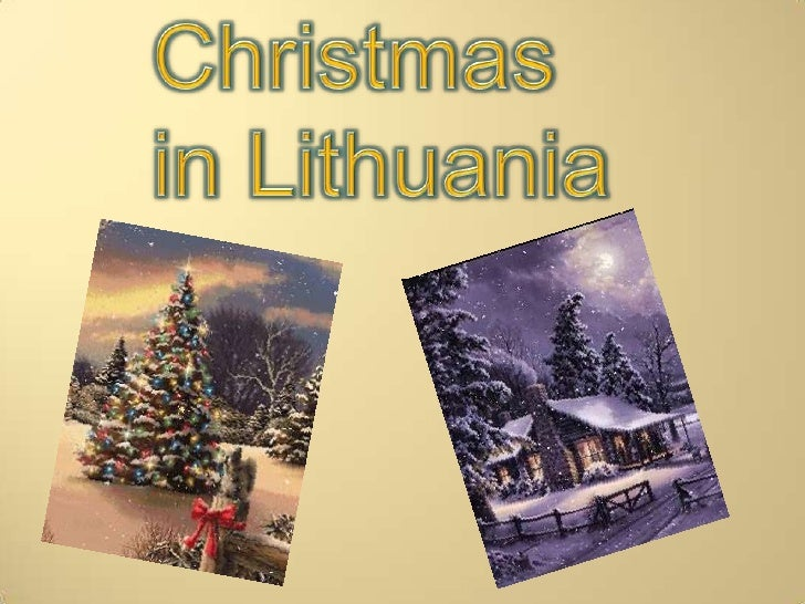 Christmas in Lithuania<br />