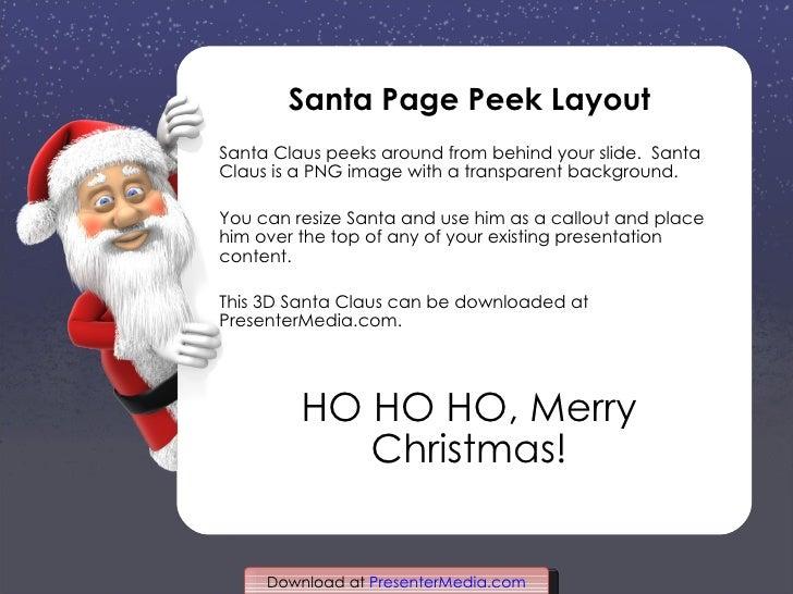 Santa Claus Christmas Template – Santa Claus List Template