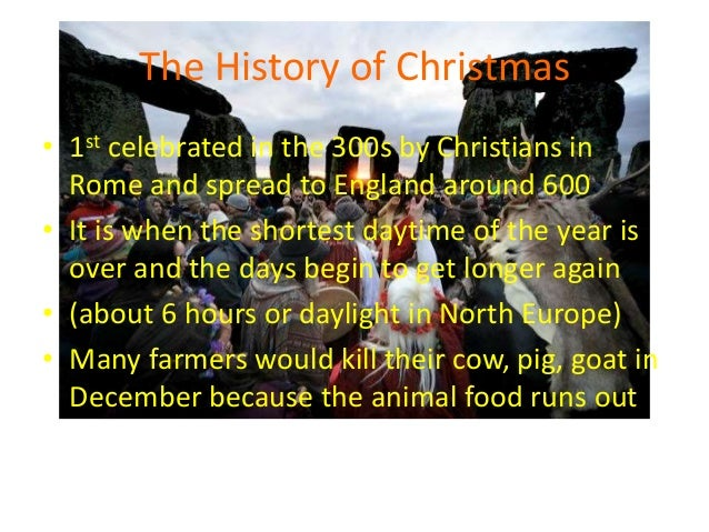 Christmas Festival Cultural Change