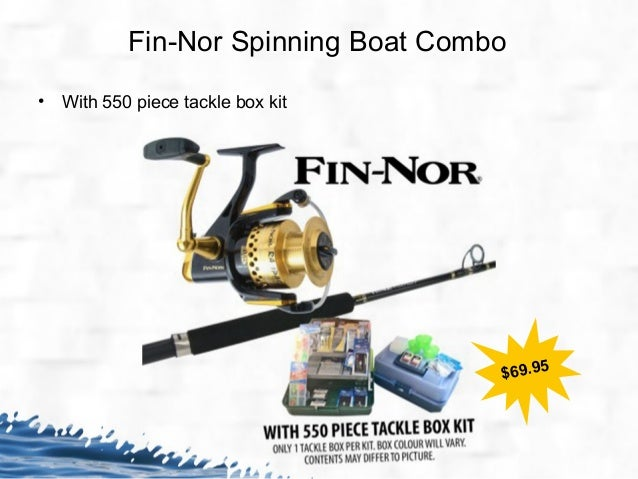 Christmas fishing tackle sale fishing rods reels gear for Fishing tackle sale