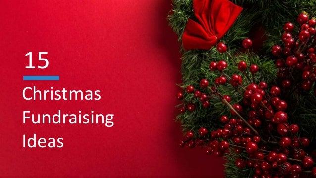 christmas fundraising ideas 15