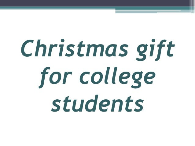christmas list for college students Do you have an online college student on your christmas list thinking about splurging on yourself this holiday season here's our list of five must-have gifts for someone working to earn their online college education.