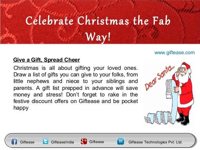 Christmas Gift Ideas Slide 3