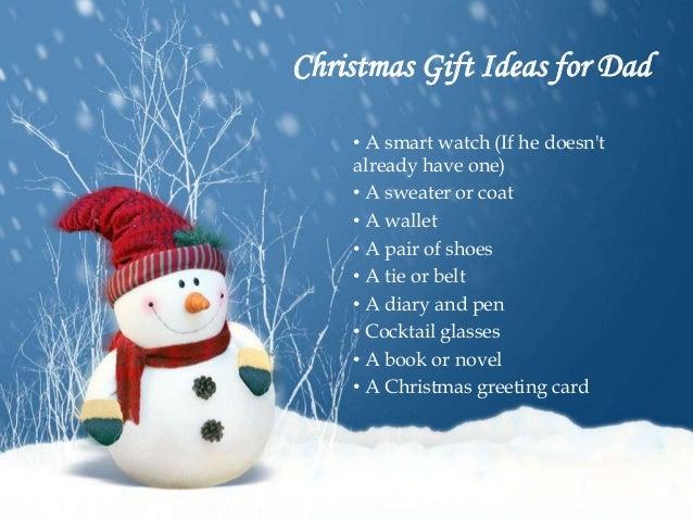 Novel christmas gift ideas