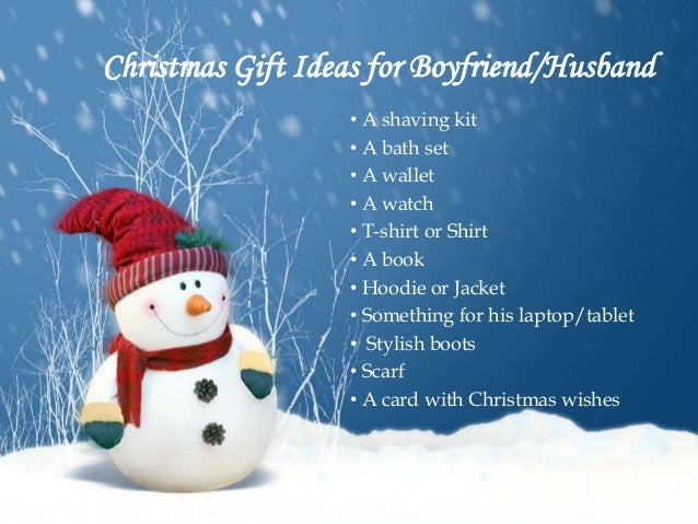christmas gift ideas for boyfriendhusband