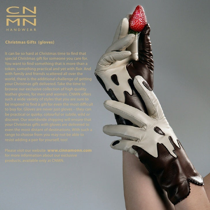 Christmas Gifts (gloves)  It can be so hard at Christmas time to nd that special Christmas gift for someone you care for. ...