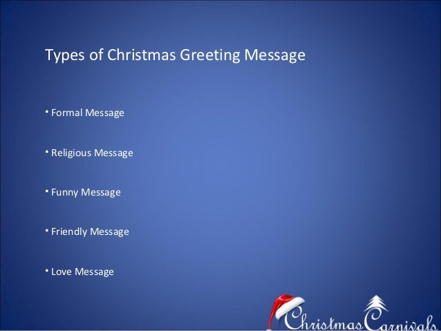 Christmas greeting message relation 3 types of christmas greeting message formal m4hsunfo