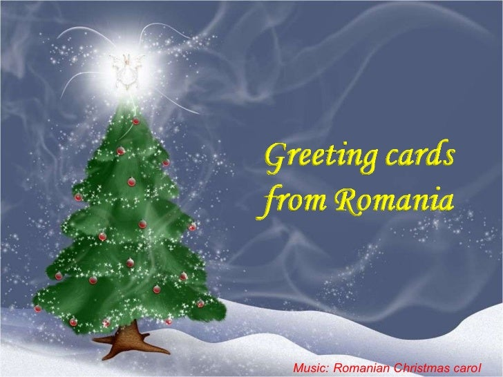 Christmas greetings from romania music romanian christmas carol m4hsunfo