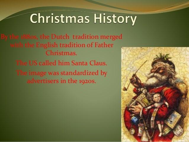 Christmas History In English.Christmas History