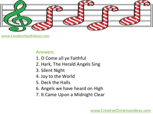 Christmas Ideas Name That Christmas Tune
