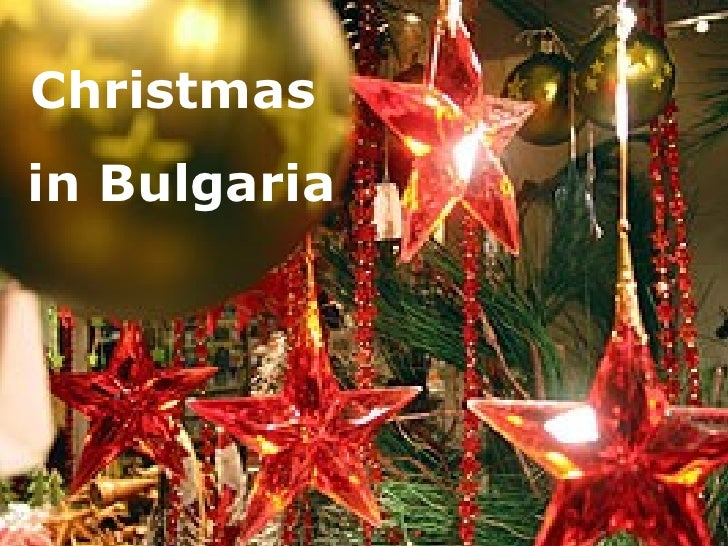 Christmas  in Bulgaria