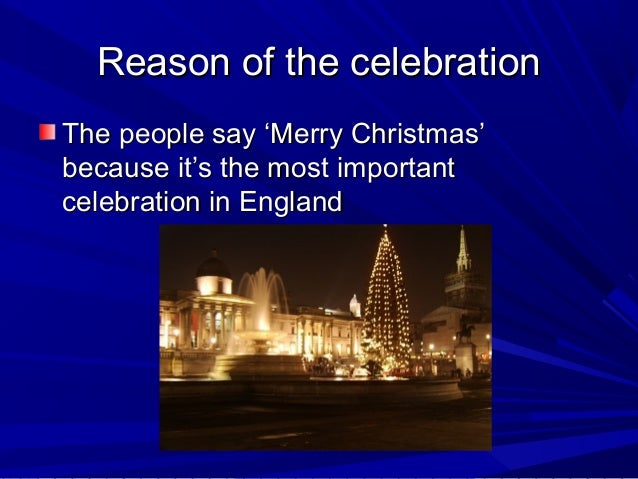 christmas in england - How Does England Celebrate Christmas