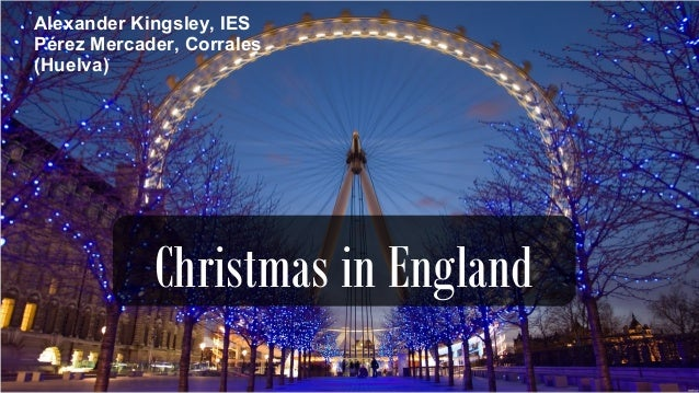 Christmas In England.Christmas In England