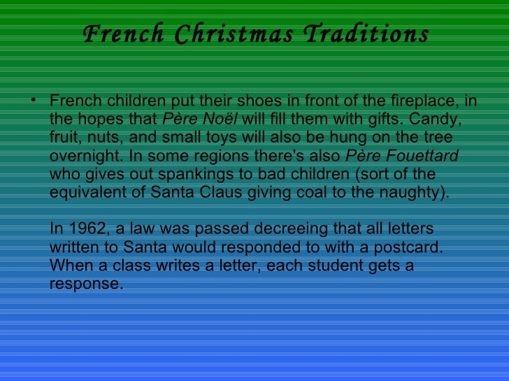 Christmas In France Tradition.Christmas In French