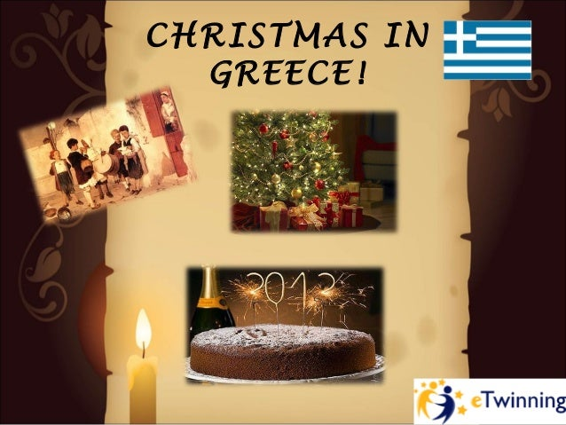 CHRISTMAS IN  GREECE!