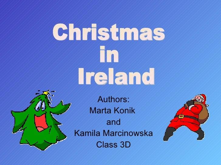 Irish Christmas Traditions.Christmas In Ireland
